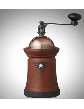 原木陶瓷刀盤磨豆機