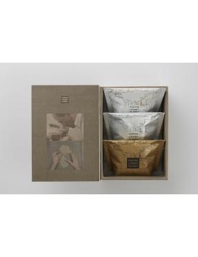 咖啡豆書本禮盒