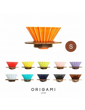ORIGAMI 摺紙咖啡二代濾杯 -S (含木托)