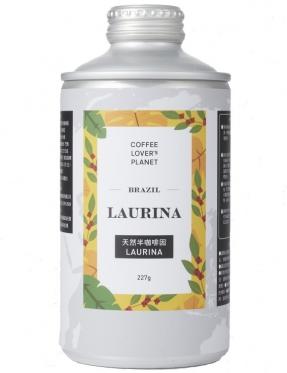 巴西  天然半咖啡因  陽壓罐咖啡豆