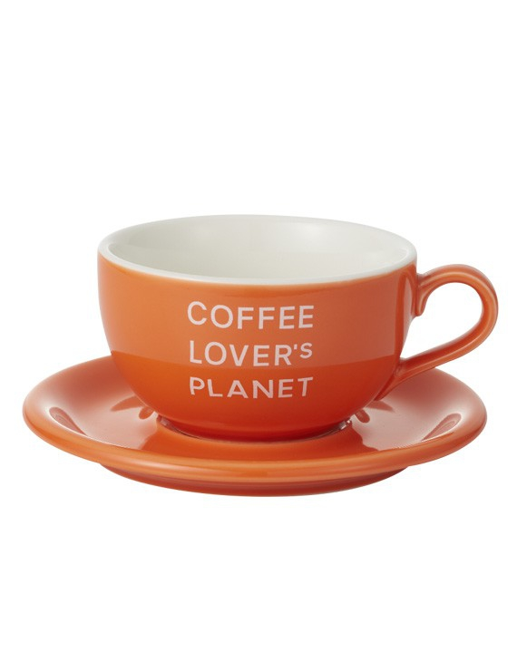 ORIGAMI JAPAN 拿鐵咖啡杯盤組