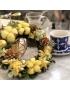 耶誕暖棉棉花圈(12/15新竹店)