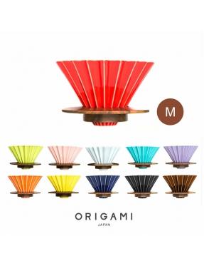 ORIGAMI 摺紙咖啡二代濾杯 -M (含木托)