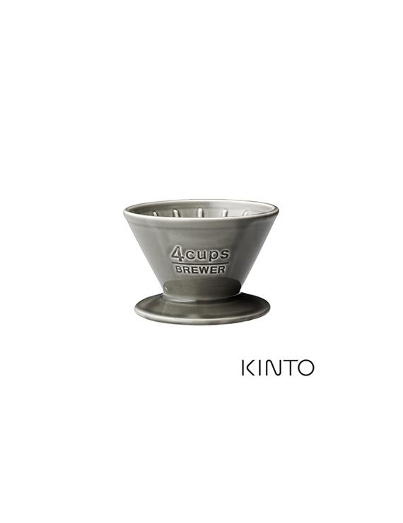 KINTO SCS陶瓷濾杯4杯量-白