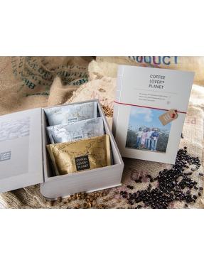 冠軍監修咖啡豆書本禮盒