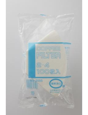 BONMAC漂白梯型濾紙(2-4人用)