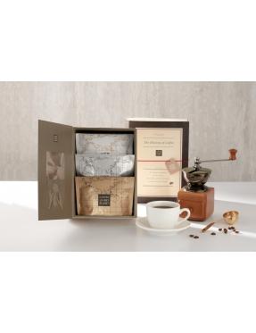 咖啡豆書本禮盒-農園書本系列